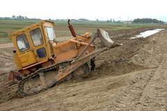 Excavatrice de tracteur à chenilles Image libre de droits
