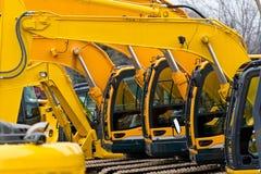 Excavatrices Images stock