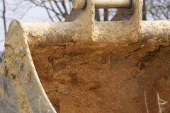Excavatrices de Whelled photo stock