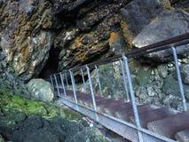 Excave la entrada, cueva del lago, Margaret River, Australia occidental Fotografía de archivo