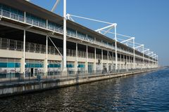 Excel Centre in Docklands, London, England Royalty Free Stock Photography