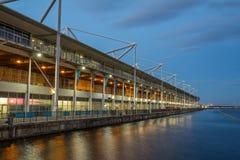 Excel Centre, Royal Victoria Docks royalty free stock photos