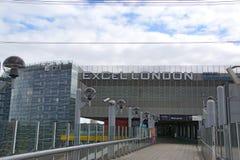 Excel Londres Fotografía de archivo