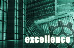 Excellence. Futuristic as a Art Abstract Background royalty free illustration