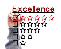 Excellence concept Royalty Free Stock Image