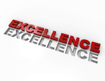 Excellence 3d word concept Stock Photo