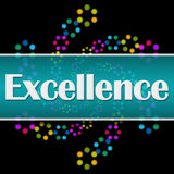 Excellence Dark Colorful Neon Square Horizontal Royalty Free Stock Images