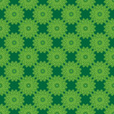 Excellent abstract green flower pattern. Asian style texture Stock Image