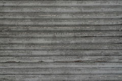 Excellent antique weathered wooden jalousie with perfect weather Royalty Free Stock Image