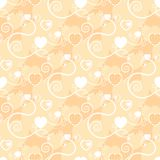 Excellent background with hearts Royalty Free Stock Photos