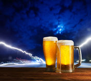 Excellent beer Stock Photos