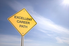 Excellent Career Path Stock Photo
