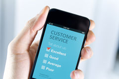 Excellent customer service support Royalty Free Stock Photography
