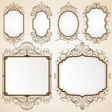 Excellent Decorative Frames. Set of decorative frames vector illustration. Saved in EPS 10 with NO transparencies. All elements are separated, well layered and vector illustration