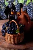 Excellent Georgian wine stock photography