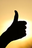 Excellent hand sign Royalty Free Stock Photography