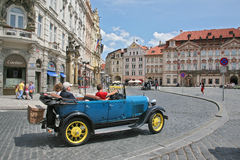 Excellent impressions of Prague vacations Royalty Free Stock Images