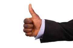 Excellent Job. This is an image businessman giving thumbs up. (Please let me know where the image will be used by leaving a message in the Comments Section/See royalty free stock photos