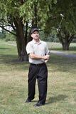 Excellent lecteur de golf Photographie stock libre de droits