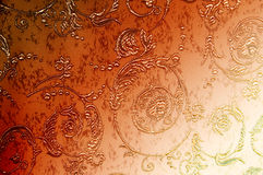 Excellent lovely abstract wallpaper. Amazing brown floral pattern can be used us background Stock Photos