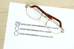Excellent Performance Royalty Free Stock Photo