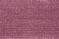 Excellent relief fabric texture in pink colour. High resolution photo Royalty Free Stock Photography