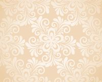 Excellent seamless floral background with flowers  Royalty Free Stock Photography
