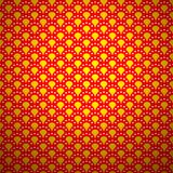Excellent traditional asian pattern with golden Royalty Free Stock Photo