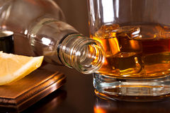 Excellent whiskey Images stock