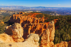 Excellente formation de roche Bryce Canyon National Park L'Utah, USA Photographie stock libre de droits