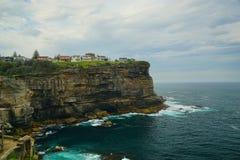Excellentes falaises en Diamond Bay ? Sydney photo stock
