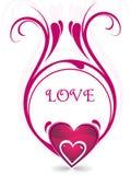 Excellents milieux abstraits d'amour illustration libre de droits