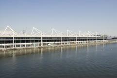 Excelmitt, kungliga Victoria Docks Arkivfoton