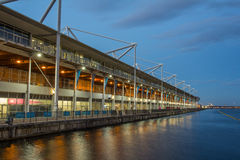 Excelmitt, kungliga Victoria Docks Royaltyfria Foton