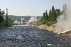 Excelsior Geyser Royalty Free Stock Photo
