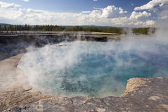 Excelsior geyser Royalty Free Stock Photos