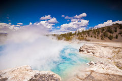 Excelsior Geyser Crater Royalty Free Stock Images