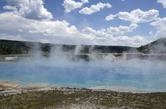 Excelsior Geyser Crater Yellowstone national park Stock Photos