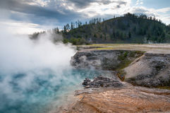 Excelsior Geyser Crater Stock Photos
