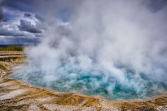 Excelsior Geyser Crater Royalty Free Stock Photography