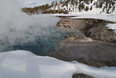 Excelsior Geyser, Midway Geyser Basin, Yellowstone NP Stock Photos