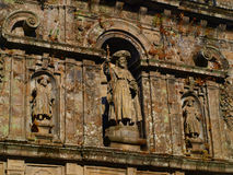Excerpt from the wall  the Cathedral in San Stock Photos