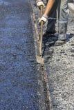 Excess asphalt 2 Stock Photo