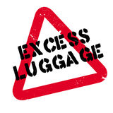 Excess Luggage rubber stamp Royalty Free Stock Photos