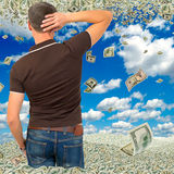 Excess profits. Royalty Free Stock Images