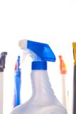 Excessive cleaning products bad for the environmen Royalty Free Stock Photography
