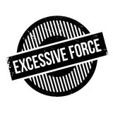 Excessive Force rubber stamp Royalty Free Stock Images