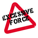 Excessive Force rubber stamp Stock Photos