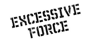Excessive Force rubber stamp Stock Images