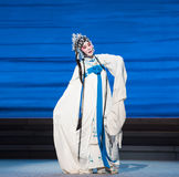 """Excessive grief-The seventh act Disintegration of families-Kunqu Opera""""Madame White Snake"""". Legend of the White Snake is one of the most famous tales Stock Photos"""